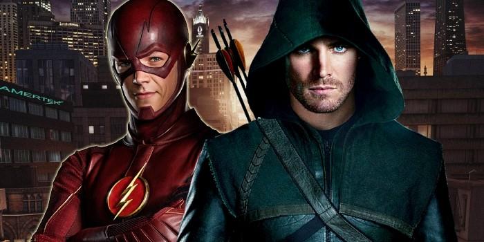 Resultado de imagem para arrow e flash